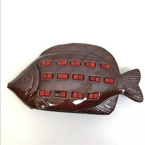 Other - Mid Century Modern Ceramic Fish Vintage Home Decor